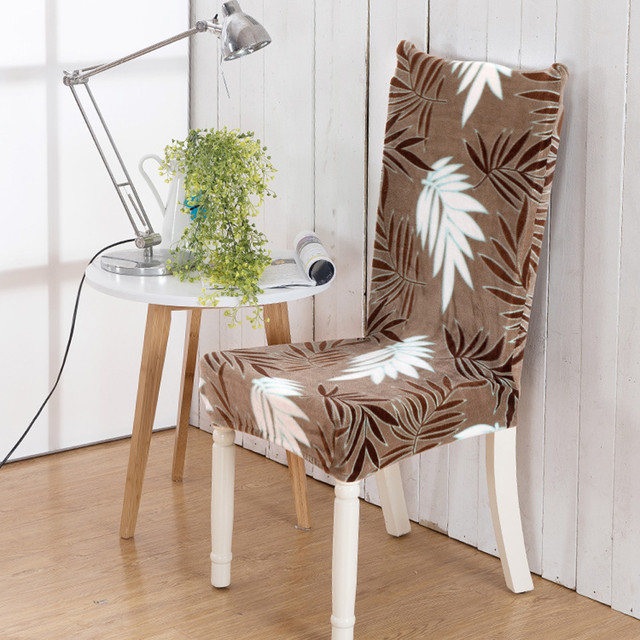 dining chair covers aliexpress best desk for pc gaming multicolor cover universal chairs covered wedding party banquet hotel seat home textile