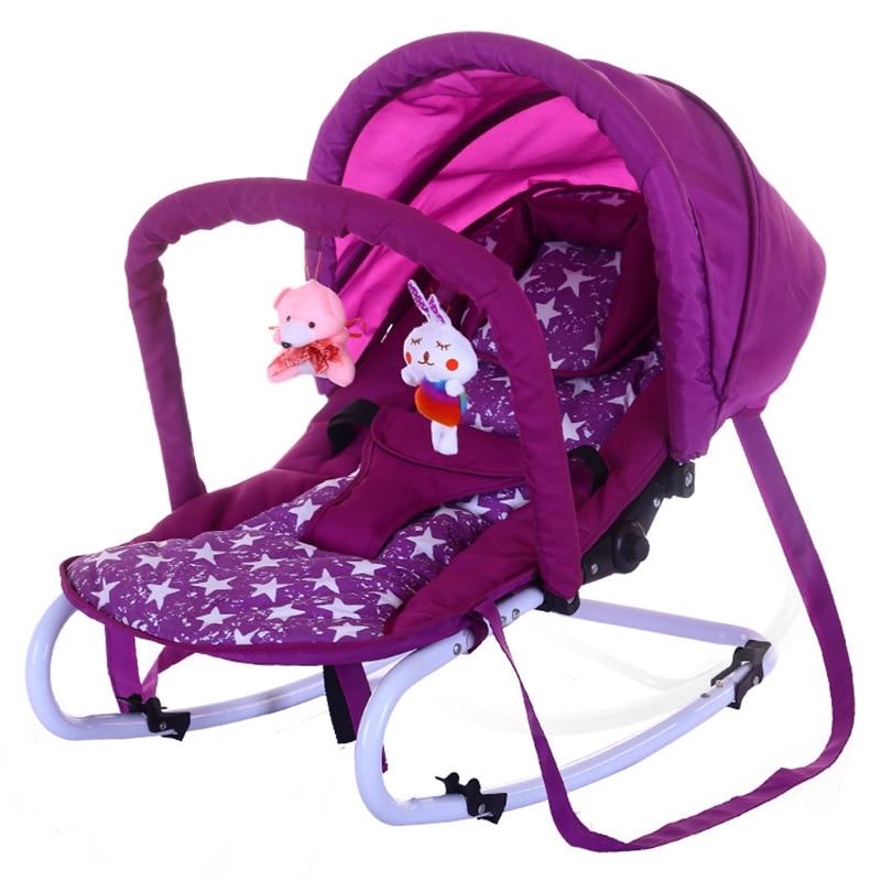 Multifunction Rocking Chair Baby Bouncer Portable Newborn