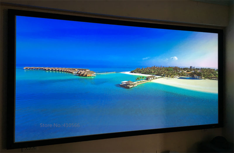 Us 528 96 5 Off Home Cinema Projector Projection Screen 160