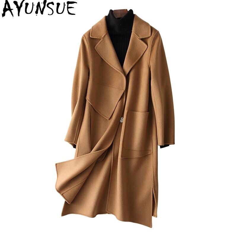 buy ayunsue 2018 spring autumn women wool. Black Bedroom Furniture Sets. Home Design Ideas