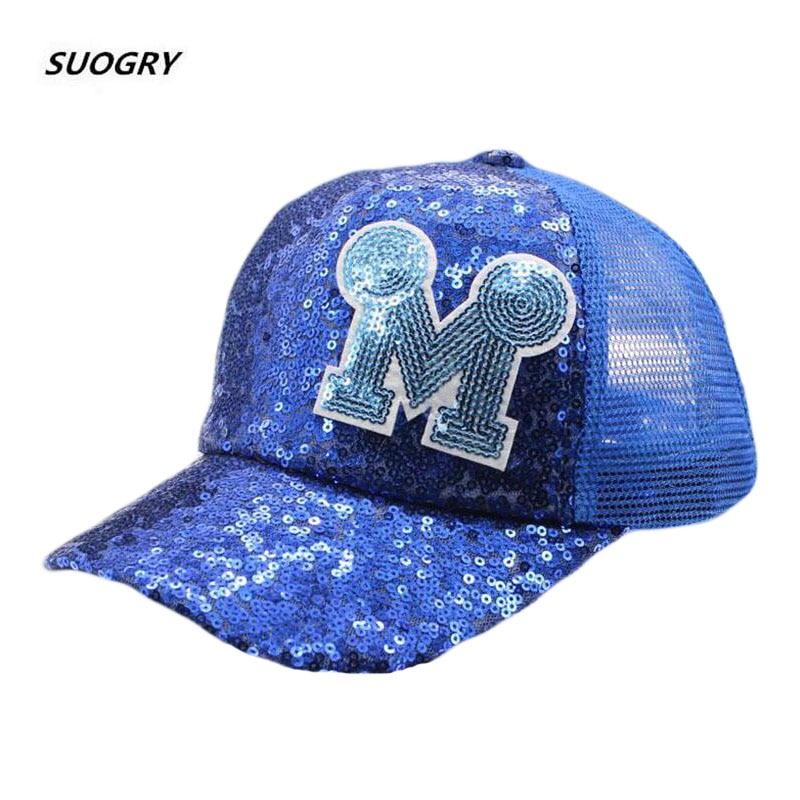 New Sequin Children Kids Summer Sun Hats   Baseball     Caps   Boy Girl M Net Beach   Cap   Summer Visor Hat Mesh Snapback   Baseball     Caps