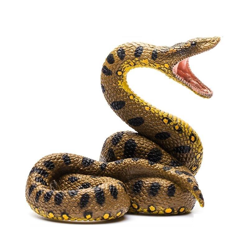 Snake Toys For Boys : Collecta figure green anaconda python snake classic toys