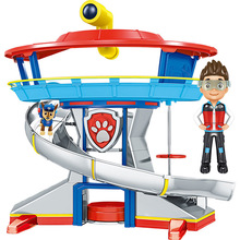 Paw Patrol toys set patrol dog track Command Center Rescue Base Toy Patrulla Canina Anime Action Figures Model Toys paw patrol toys command center control tower series patrulla canina music headquarters action figures toys for children gifts