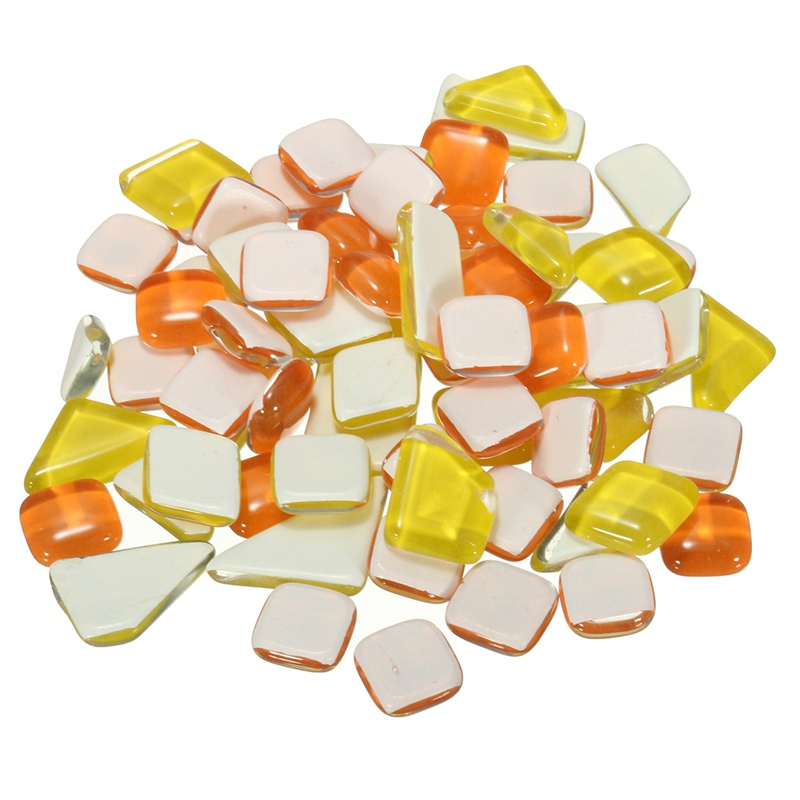Online buy wholesale glass mosaic diy from china glass for Craft mosaic tiles bulk