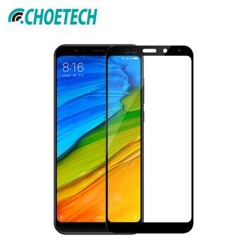 CHOETECH de vidrio para Xiaomi Redmi Note 5 Pro Protector de pantalla 9 H dureza vidrio templado para Redmi 5 Plus película protectora