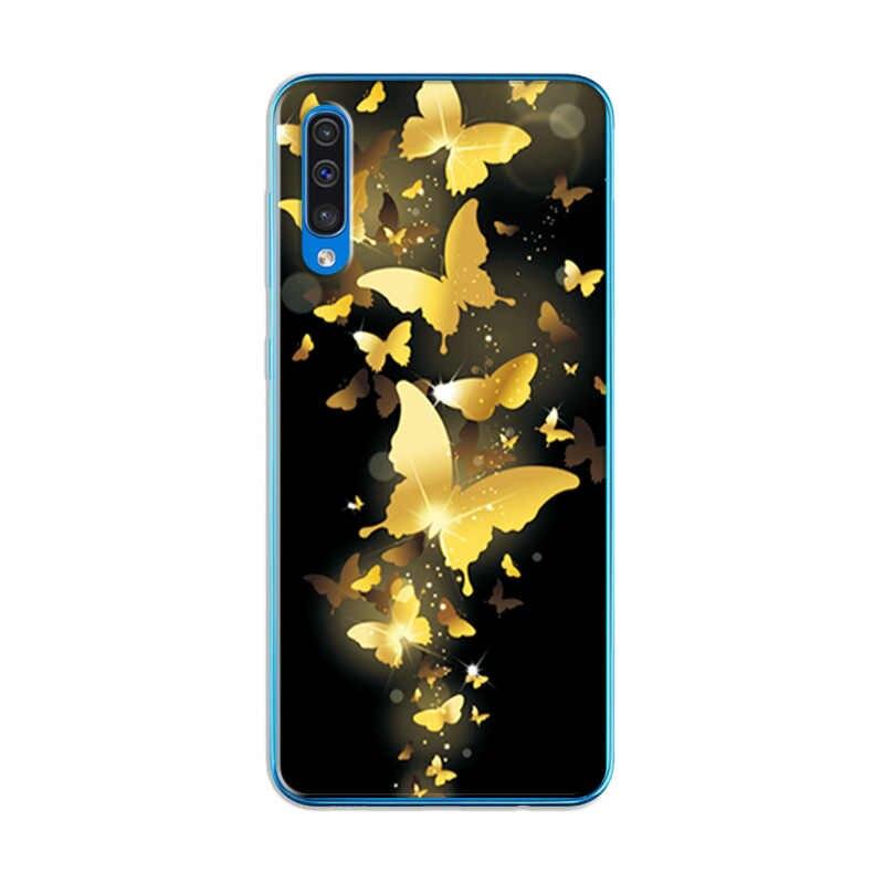 غطاء إطار هاتف محمول لسامسونج غالاكسي A10 A20 A30 A50 مختلف أساليب جديدة Fundas لسامسونج A70 A 30 A705F السماء الكوكب كوكه
