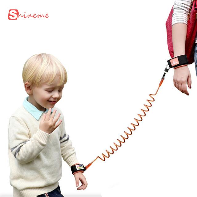 Marca 1.8 m pulseras de seguridad para niños niños bebé perdido anti bebé niño bastón asistente arnés cinturón ayuda alas honda