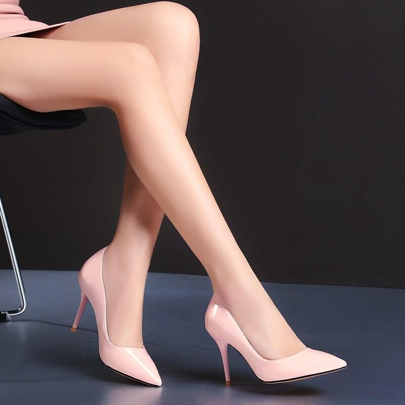 Dilalula nouveau hiver chaud femmes mi mollet bottes dames Martins chaussures femme en cuir véritable décontracté rencontres à tricoter courtes dames bottes - 4