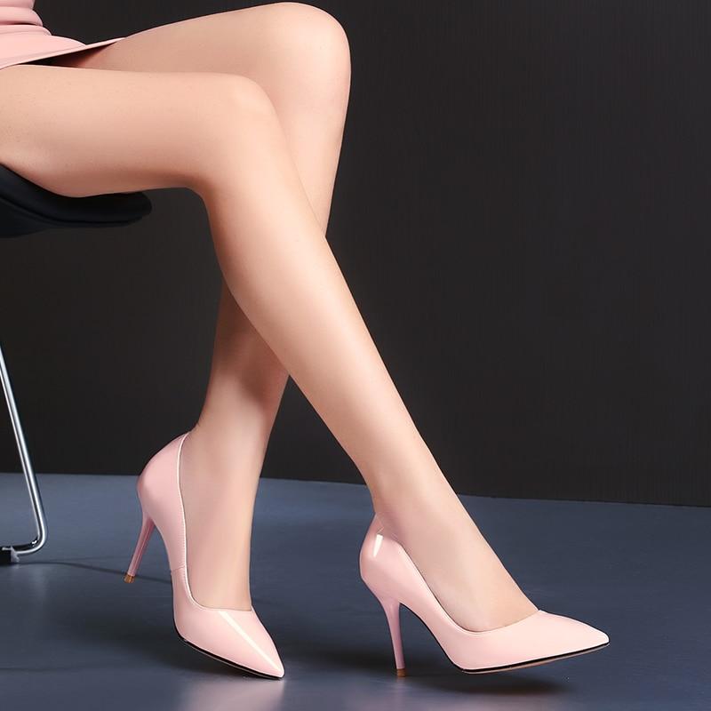 Nuevas botas cálidas de Invierno para mujer, botas de media pantorrilla, zapatos de mujer, zapatos de cuero Real, botas cortas para mujer - 4