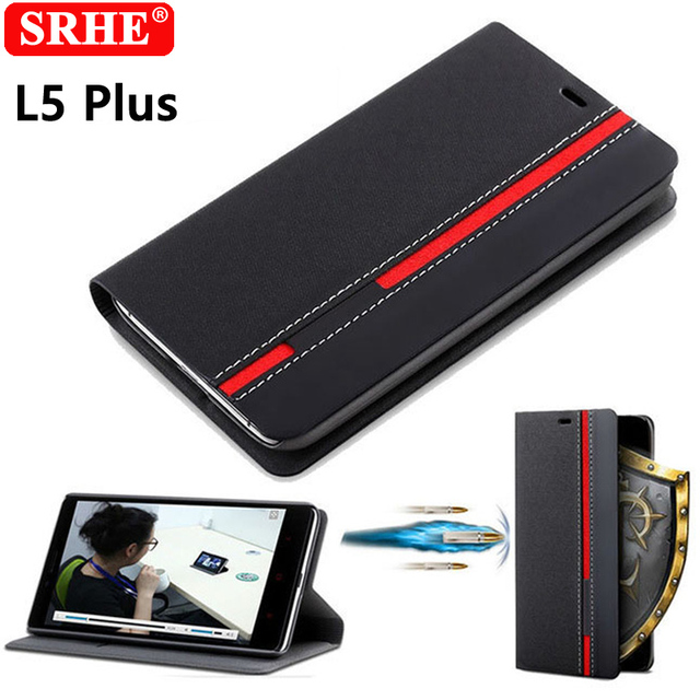 ZTE Blade L5 Plus Case Flip Luxury Fashion Silicone Leather Back Cover For ZTE Blade L5 L0510 T520 Fundas Coque With Phone Stand