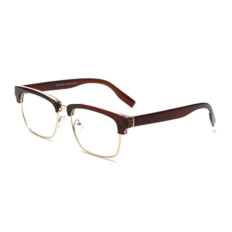 VictoryLip Square Half Frame Brand Designer Cool Big Sun Glasses ...