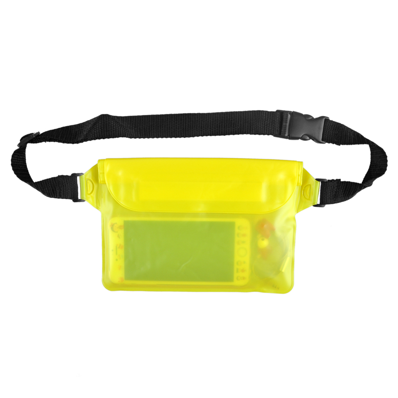 Beach Diving Drifting Swimming Boating Fishing Camping Waterproof Pouch Waist Strap For IPhone Camera Cash MP3 Passport Document