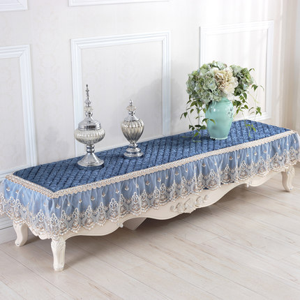 European TV cabinet cover tablecloth cover TV cabinet tablecloth pad cabinet cover dust cover цена