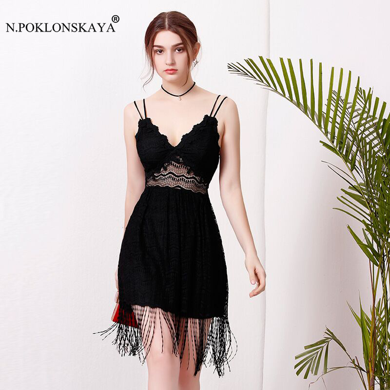 Women Bodycon Dress Sexy Hollow Out Lace Summer Dress 2018 Female Party Clubwear Dresses V Neck Celebrity New Evening Vestidos