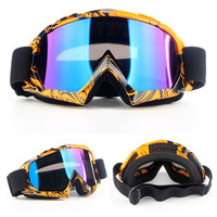 Unisex MTB Bike Cycling Glasses Ski Snowboard Motorcycle Dustproof Sunglasses Goggles Lens Frame Eye Glasses Anti