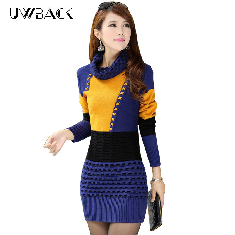 Women Winter Sweater Dresses