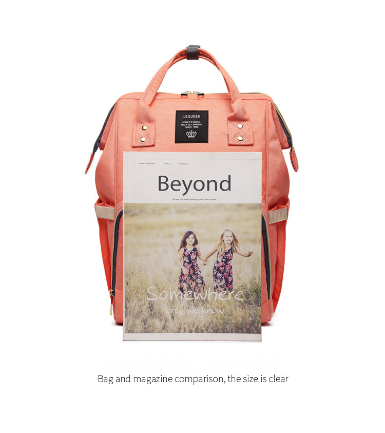 HTB1Asl2bsvrK1Rjy0Feq6ATmVXaq Drop Shipping Lequeen Nursing Care Baby Bag Stripe Diaper Bag Nappy Bag Organizer Waterproof Maternity Bag