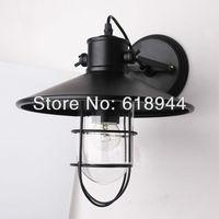 Estilo industrial do vintage lâmpada de parede ao ar livre iluminação de luz Razoável com Edison Lâmpada luminárias de parede lâmpadas de iluminação do dispositivo elétrico