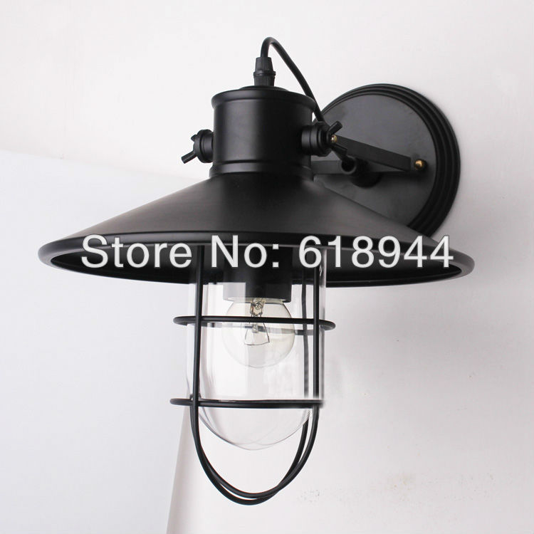 Vintage Industrial Style Wall Light Reasonable Outdoor