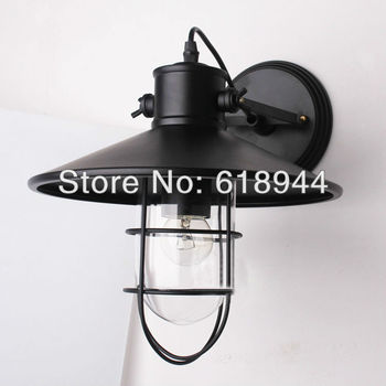 Vintage industrial style wall light Reasonable outdoor lighting with Edison Light Bulb luminaires wall lamps lighting fixture