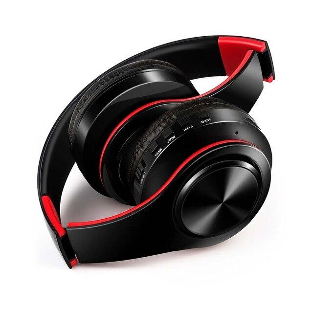NDJU беспроводные наушники Bluetooth Складные регулируемые гарнитура с микрофоном для мобильного телефона samsung xiaomi