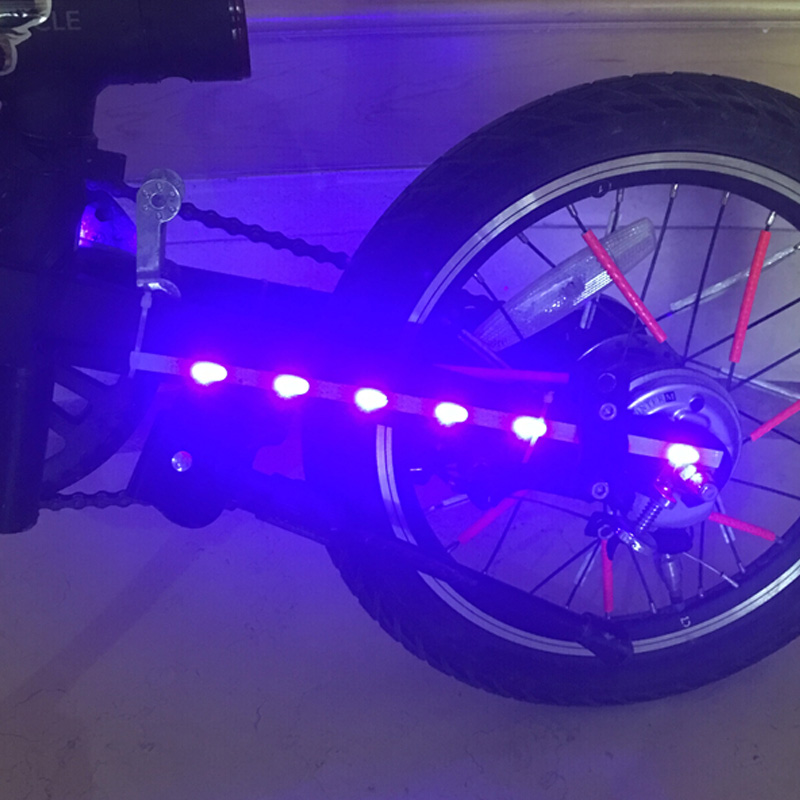 LED Strip Bar Lamp Warning Night Lights For Xiaomi Mijia M365 Electric Scooter