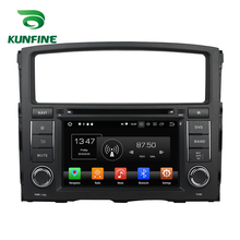 Octa Core 4 gb di RAM Android 8.0 Navigazione Dell'automobile DVD GPS Multimedia Player Car Stereo per MITSUBISHI PAJERO 2006- 2012 Radio WIFI