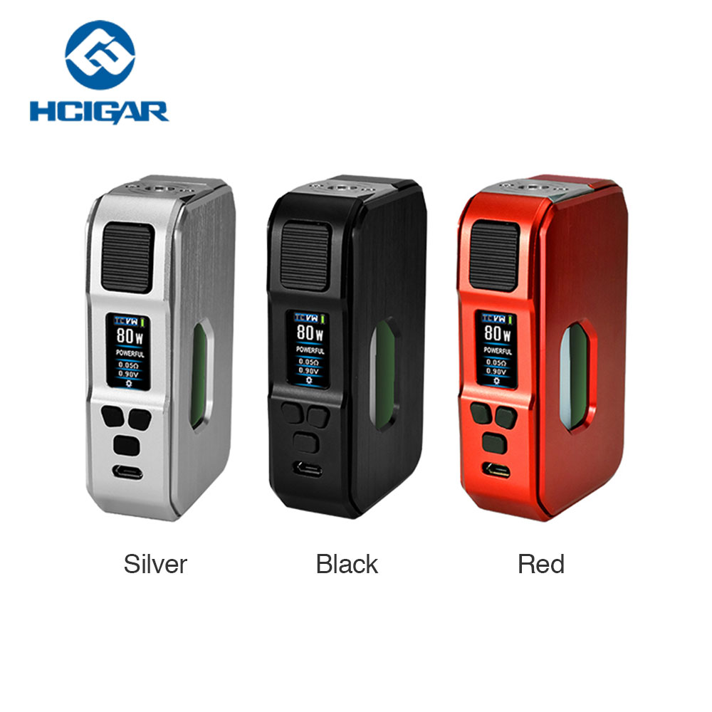 80W Hcigar Aurora MOD Electronic Cigarette Mod with Towis XT80C Chipset & 7ml Silicone Squeeze Bottle No 18650 Battery Vape Mod laura mercier lm 14 7ml