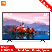 Xiao mi Smart 4A 43 cm mi светодио дный Full HD Android ТВ 8,0 4A 108 см Ultimate PatchWall 1 PatchWall 8 ГБ Ультра яркий светодио дный Дисплей 1920x1080