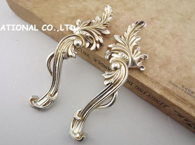 128mm Free shipping 2pcs/set zinc alloy Furniture Handle Cabinet Cupboard Wardrobe handle