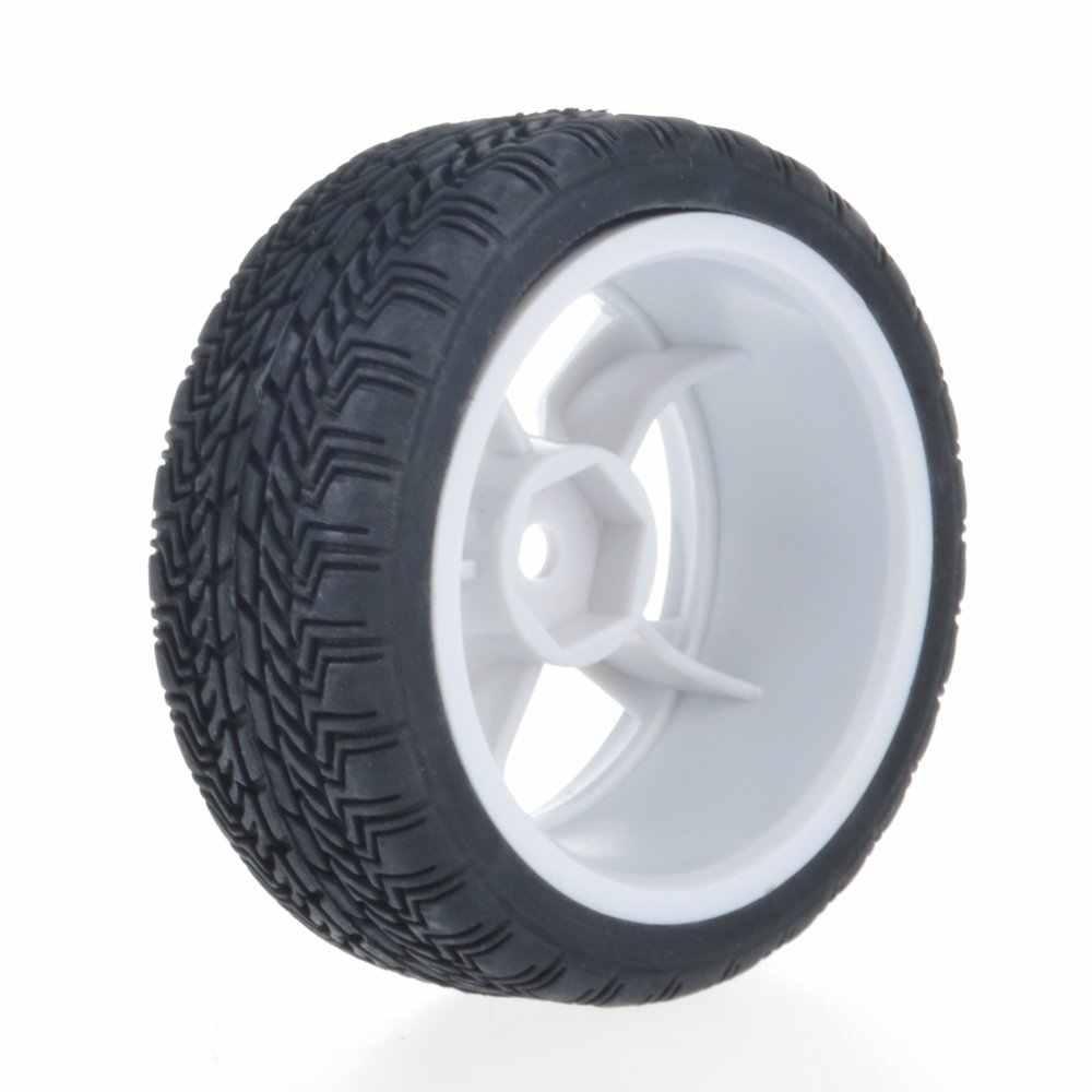 1/10 RC On Road Car Rubber met Plastic velgen voor Traxxas HSP Tamiya Mini 4wd CC01 TTO1 HPI Kyosho