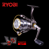 RYOBI ZAUBER 1000/2000/3000/4000 Original Japanese Sea Reel Corrosion Resistant Wheel Full Metal Body Spinning Fishing Reels