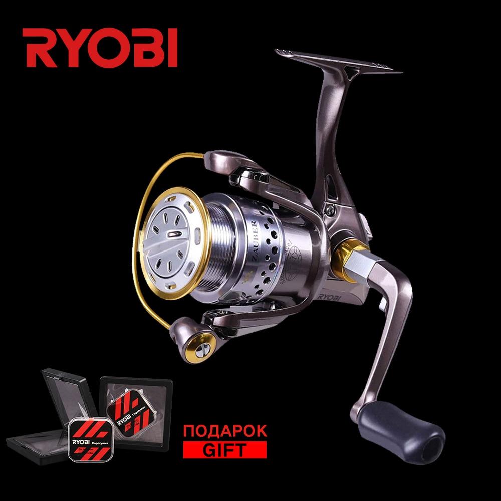 RYOBI ZAUBER 1000/2000/3000/4000 Originale Giapponese Mare Bobina di Resistente Alla Corrosione Ruota di Metallo Full Metal Corpo Spinning mulinelli