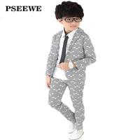 PSEEWE 2016 Boys Suits School Blazers