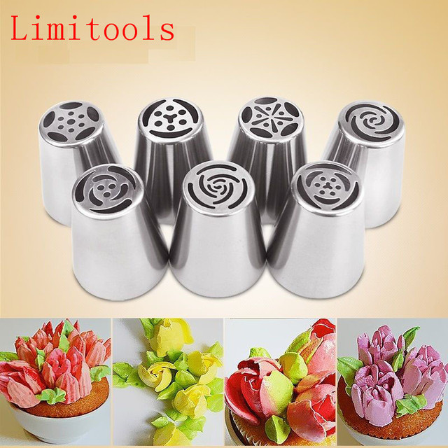 LIMITOOLS 1PC Russian DIY Pastry Cake Icing Piping Decorating Nozzle Tips Baking Pastry Tools Free Shipping