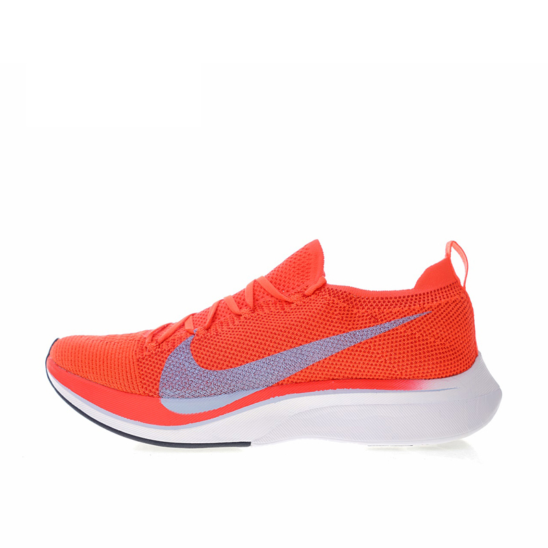 Authentic Nike Vaporfly Flyknit 4% Women's Breathable Running Shoes Sport Outdoor Sneakers Athletic Designer Footwear 2018 New