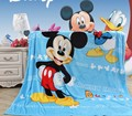 De dibujos animados Mickey KT Princesa Niño Estera Siesta Manta Manta 70x100 CM Muchachas de Los Muchachos Caliente para el Verano Otoño Invierno