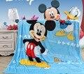 Desenhos animados Mickey KT Princesa Criança Cochilo Cobertor Mat 70x100 CM Cobertor para o Verão Outono Inverno Das Meninas Dos Meninos Quente