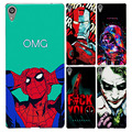 New Fashion Charming Case For Sony Xperia C6 Xperia XA Ultra F3212 F3216 F3211 Perfect Design Colored Paiting Case For Sony C6