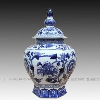 Эстетическая керамика синий и белый фарфор ваза фарфор дом украшение