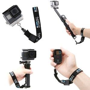 Image 2 - Lanière de poignet sangle de main remise ceinture corde sûre caméra anti perte lanière pour GoPro Hero 6 5 4 3 + SJCAM SJ4000 SJ5000 SJ6 SJ7 YI
