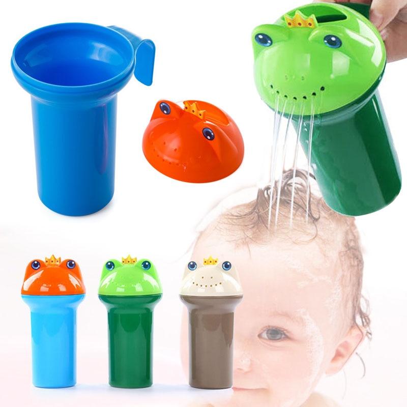 Cartoon Baby Spoon Shower Bath Water Bailer Shampoo Cup Children Bath Accessories 88 S7JN