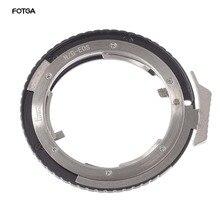 FOTGA عدسة التركيز اليدوي محول حلقة لنيكون AI G D S لكانون EOS DSLR كاميرا الجسم