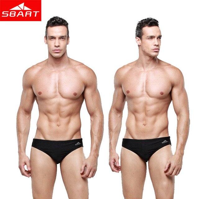 dd5d7ee238d2a SBART Gay Swimwear Men Bikini Brand 2015 Mens Swim Briefs Lycra Sexy Men  Swimwear Shorts Low Waist Swimming Trunks Plus Size 5XL