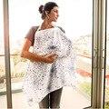 Alta Calidad cubierta de la lactancia materna de la momia 100% muselina/peine de bebé infantiles de algodón al aire libre cubiertas de enfermería lactancia bebé paño
