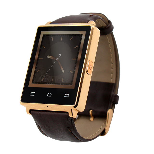 Последним № 1 D6 3 Г Smartwatch Телефон Android 5.1 MTK6580 Quad Core 1.3 ГГц 1 ГБ RAM 8 ГБ ROM 1.63 дюймов Wi-Fi Bluetooth GPS смартфон часы