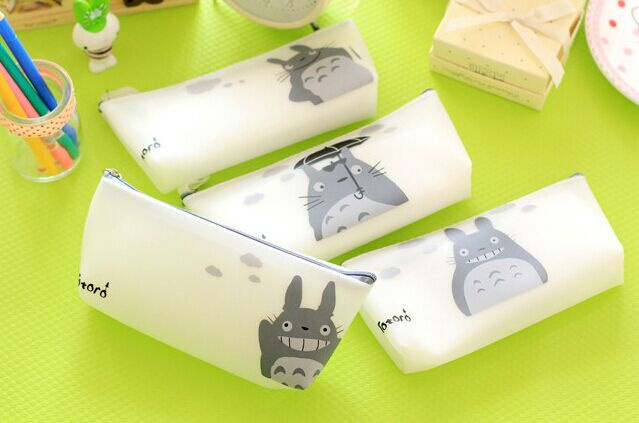 My Neighbor Totoro B&W Pencil Case Cosmetics Bag with 4 Styles