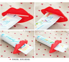 2 PCS Creative Lip Toothpaste squeeze multi-purpose extrusion device Toothpaste gels cream lotion squeezer