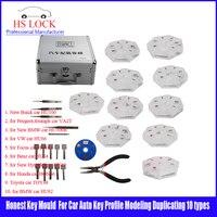 10 Types Locksmith Honest Key Mould For Car Auto Key Profile Modeling Duplicating Machine