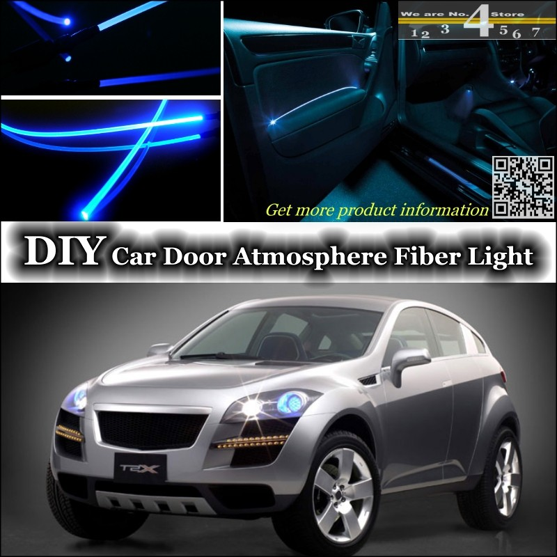 For Daewoo T2X interior Ambient Light Tuning Atmosphere Fiber Optic Band Lights Inside D ...